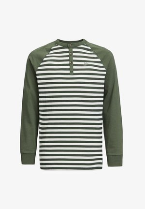 Langærmede T-shirts - army green