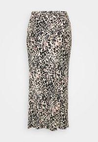 Calvin Klein - GATHERED DETAIL MIDI SKIRT - Pencil skirt - white smoke - 1