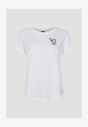 ARTIC OCEAN - Print T-shirt - powder white