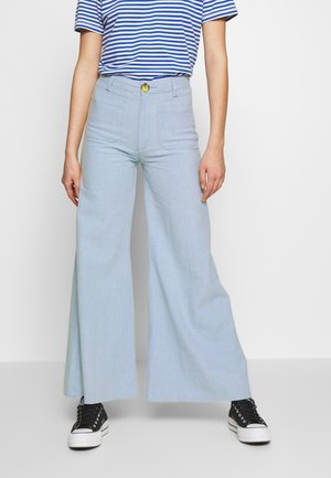 SUPER SAILOR RAMIE PANT - Kalhoty - sky blue