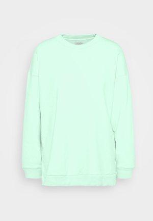 SOLID RAGLAN CREW - Sweatshirt - green