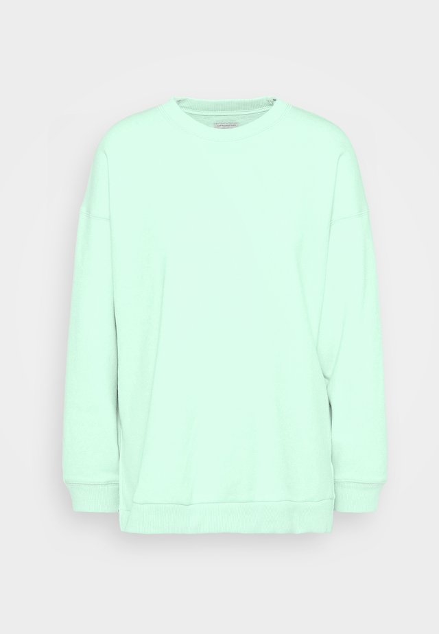 SOLID RAGLAN CREW - Sweater - green
