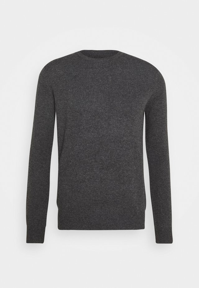MEN CREW NECK - Stickad tröja - graphite