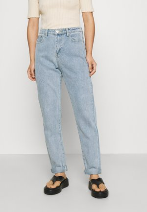 LEAH MOM - Relaxed fit jeans - light blue wash