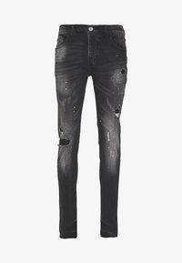 Kings Will Dream - LIMER CARROT - Slim fit jeans - grey/black - 3