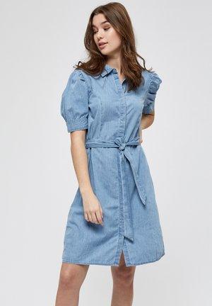 NIKIA  - Vestito di jeans - powder blue