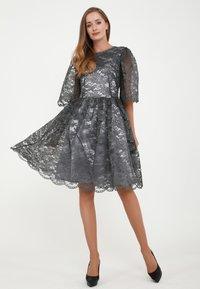 Madam-T - SNEZANA - Cocktail dress / Party dress - grau - 3