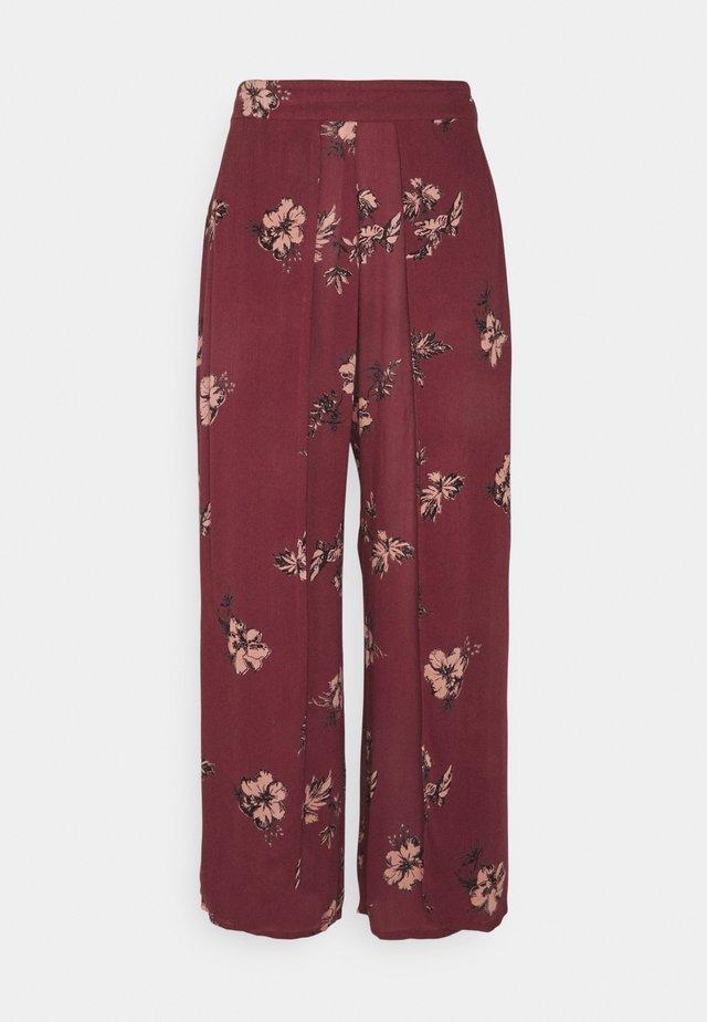 ZORRA WOMENS PANT - Pyžamový spodní díl - auburn red