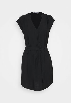ONLJOSEY V NECK DRESS - Korte jurk - black