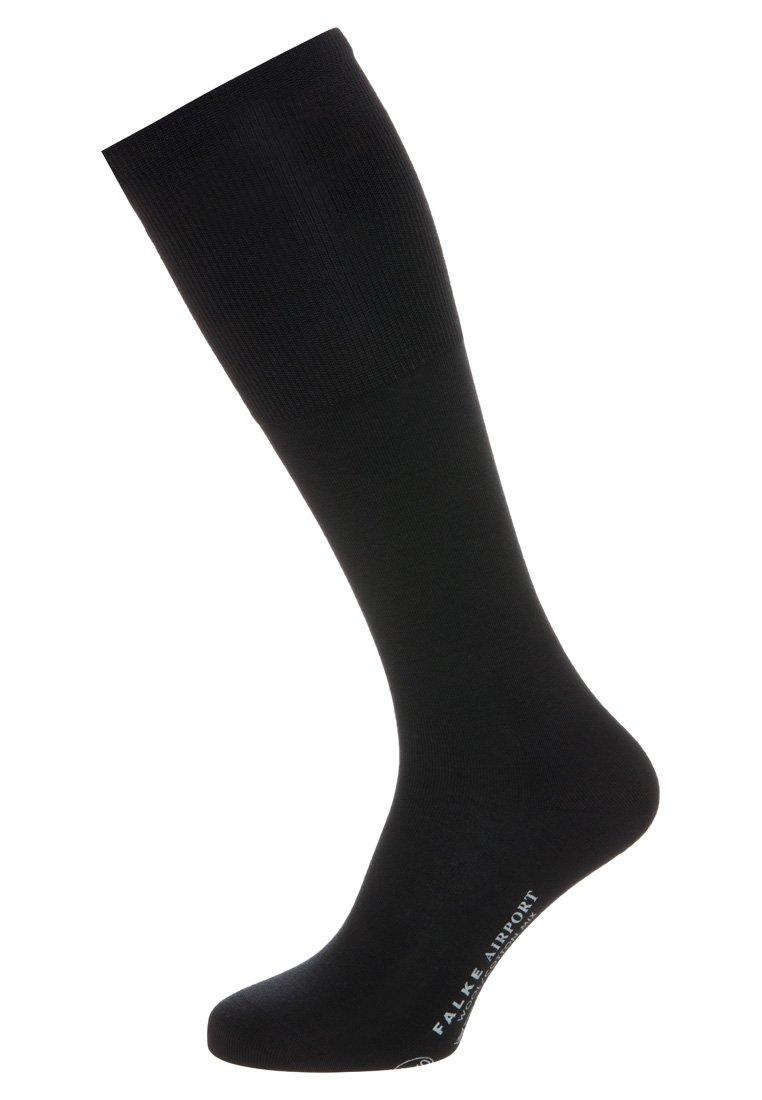 Men AIRPORT KNIESTRÜMPFE SCHURWOLLE-MIX - Knee high socks