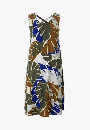 MIT RÜCKENDETAIL - Day dress - multicolor botanical design