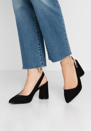 ONLPIXIE HEELED SLINGBACK  - Decolleté - black