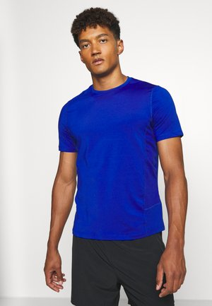 ESSENCE TEE - T-shirts basic - navy