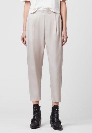 ALVA  - Trousers - white