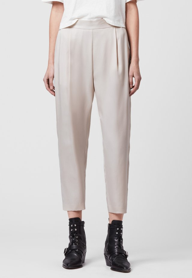 ALVA  - Trousers - white