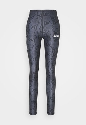 LEGGINGS - Legginsy - grey/black