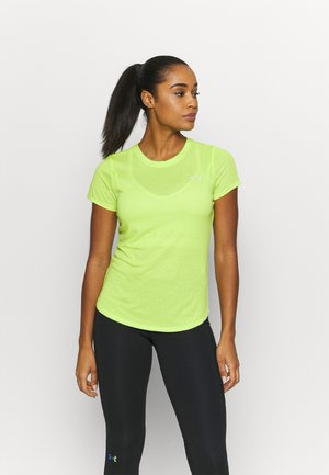 STREAKER SHORT SLEEVE - Basic T-shirt - green citrine