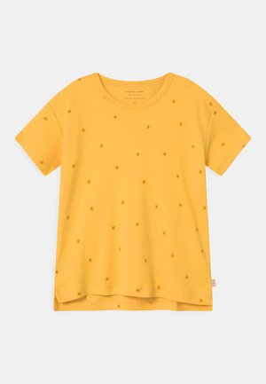 STARFISH UNISEX - Print T-shirt - yellow