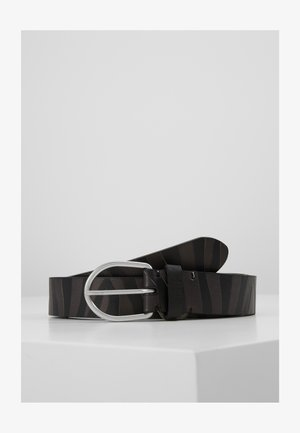 BELT ZEBRA STRIPE - Cintura - black