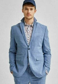 Selected Homme - Giacca elegante - light blue - 4