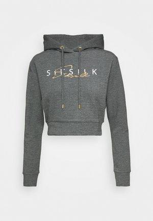 COLOUR SIGNATURE TRACK  - Mikina skapucí - dark grey