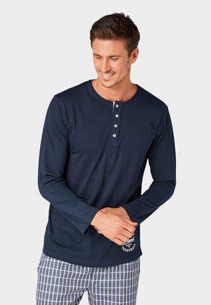 PIJAMA - Pyjama top - blue-dark-solide