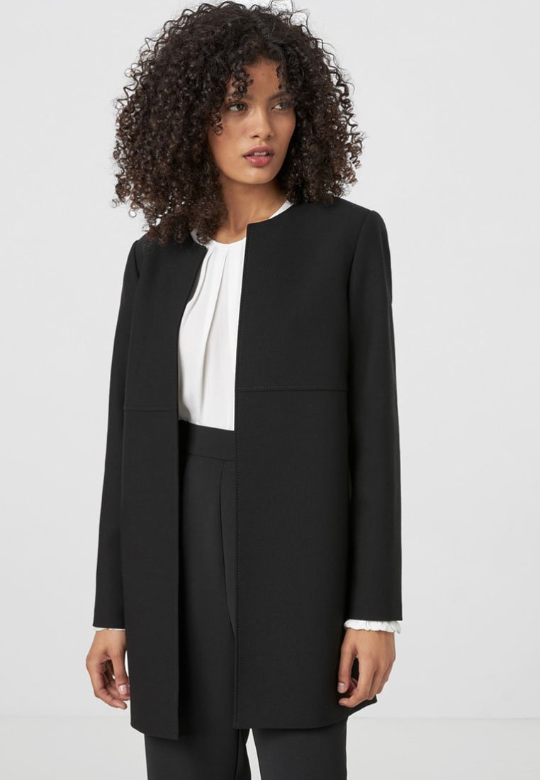 HALLHUBER - Short coat - black