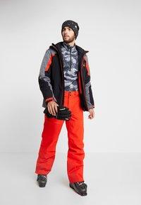 Spyder - DARE - Pantalon de ski - volcano - 1