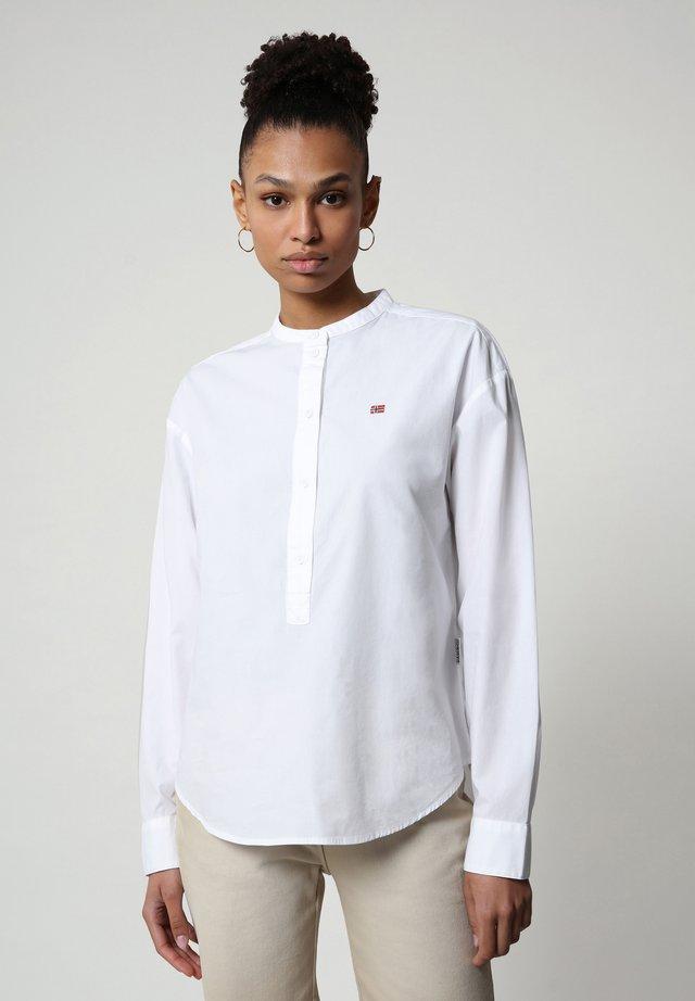 GHIO - Langarmshirt - bright white