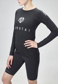 MOROTAI - Long sleeved top - black - 3