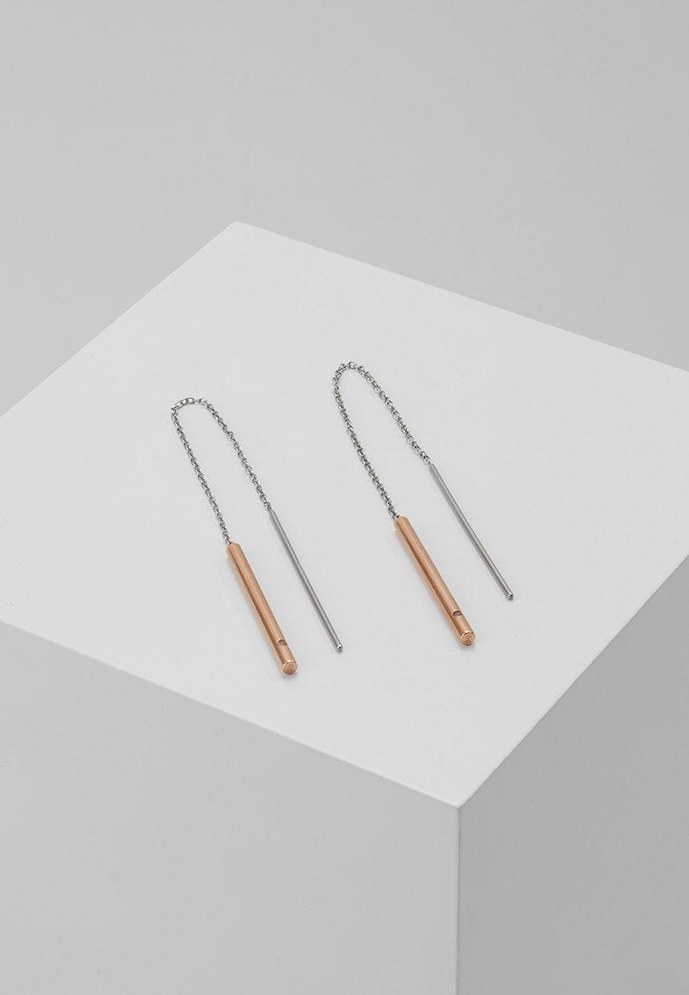 Skagen - ELIN - Earrings - silber-coloured/roségold-coloured