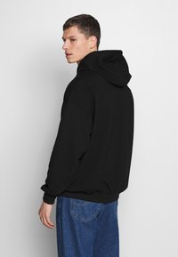 Pier One - WASTE OF TIME HOOD - Hoodie - black - 2