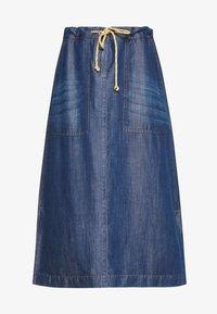 A-line skirt - denim daze
