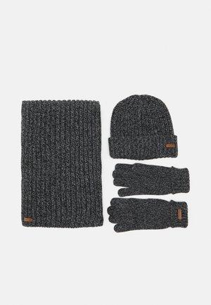 SET - Sjaal - dark grey