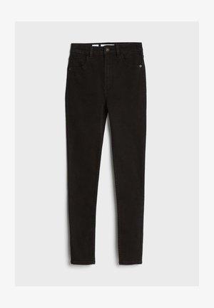 MIT SEHR HOHEM BUND  - Jeans Skinny Fit - black