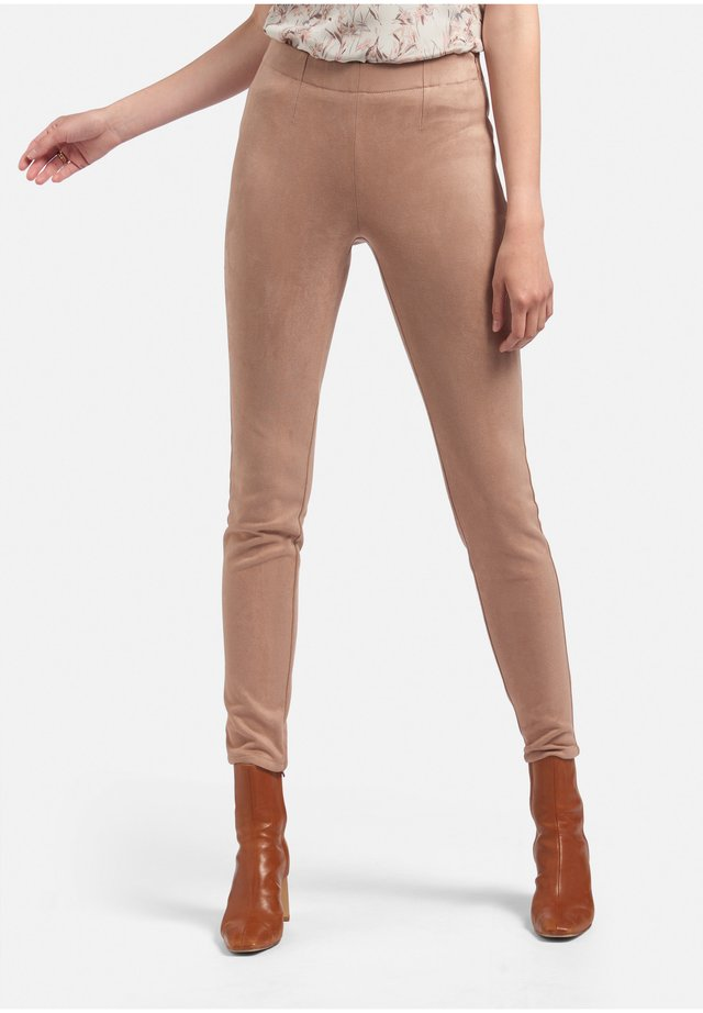 Leggings - Trousers - rose