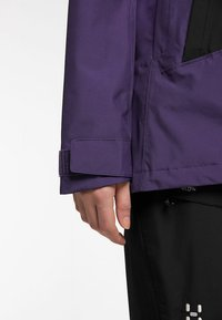 Haglöfs - LUMI JACKET - Ski jacket - purple rain/true black - 4