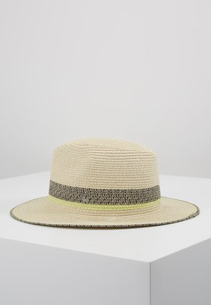 CLRBLOCKPANAHAT - Hat - cream beige