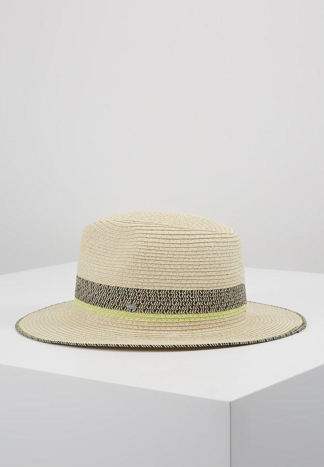 CLRBLOCKPANAHAT - Hat - cream beige