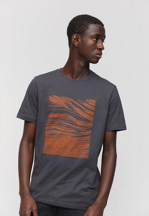 JAAMES BICYCLE - Print T-shirt - acid black