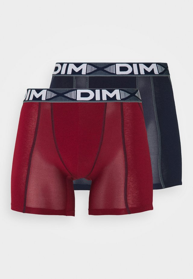 3D FLEX AIR 2 PACK - Bokserit - red/denim blue