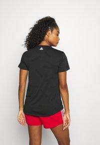 adidas Performance - TEE - T-shirt de sport - black/white - 2