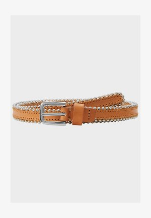 BEAD - Belt - cognac