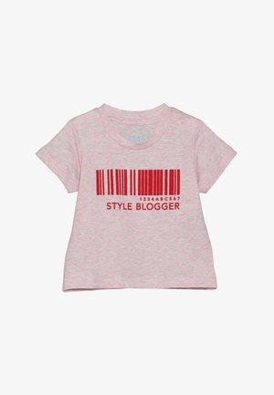 JAMIE SHORT SLEEVE TEE BABY - Print T-shirt - pink marle