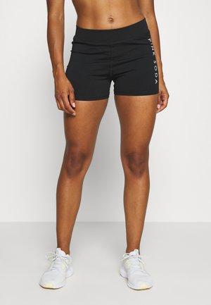 RUN - Korte broeken - black