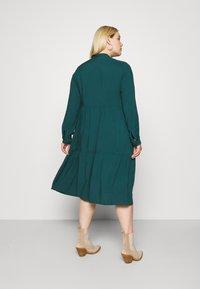 Vero Moda Curve - VMVICA CALF DRESS - Day dress - sea moss - 2