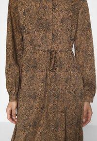 Vila - VIKOLINA TIE STRING DRESS - Day dress - tobacco brown - 4