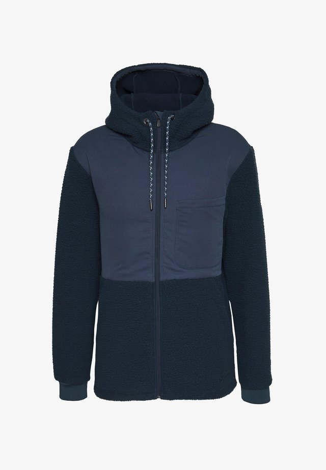 MANUKAU FLEECE JACKET - Veste polaire - steelblue
