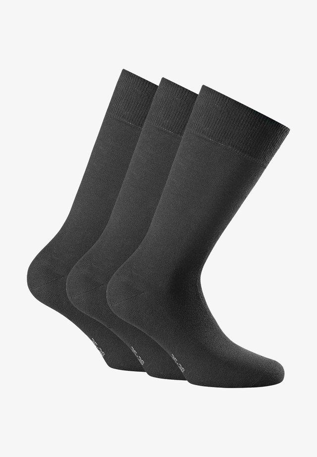 3 PACK - Socks - schwarz