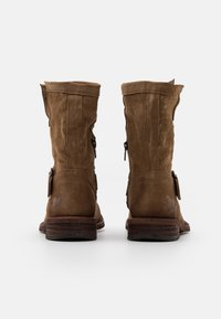 Felmini Wide Fit - GREDO - Cowboy/biker ankle boot - marvin stone - 3